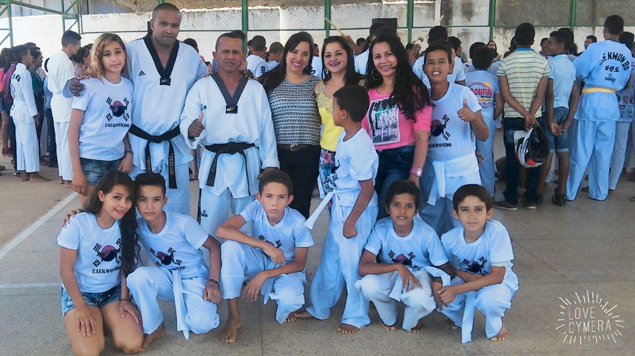 Foto de Crianças e adolescentes de Bonfim do Piauí participam de Seminário de Taekwondo