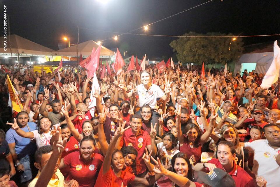 Foto de Com diferença de 11 votos Michelle ganha em São Lourenço do Piauí