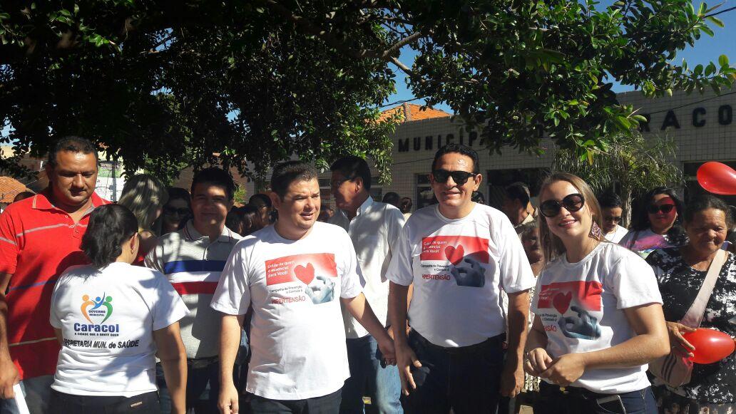 Photo of Secretaria de Saúde de Caracol promove campanha educativa
