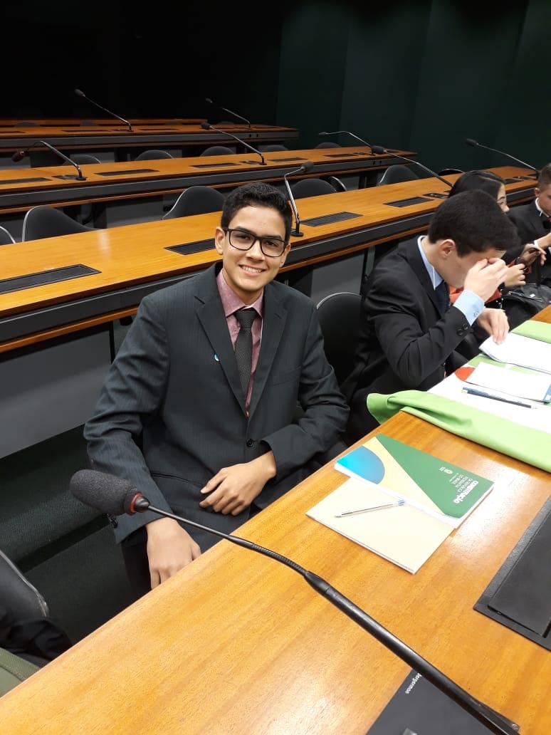 Photo of Estudante de Anísio de Abreu tem projeto aprovado no Parlamento Jovem